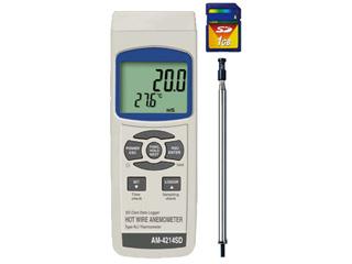 MotherTool/マザーツール AM-4214SD SDカードデータロガデジタル風速計