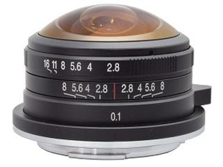 LAOWA/ラオワ LAO0048 4mm F/2.8 MFT Circular Fisheye マイクロフォーサーズ用 4mm F2.8 Fisheye MFT 【お得なセットもあります!】