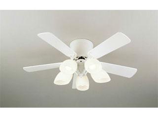 ODELIC/オーデリック WF444PC LEDシーリングファン 灯具一体型(羽根:オフホワイト/ナチュラル)【~6畳】