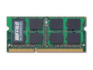 BUFFALO/バッファロー D3N1600-8G相当 法人向け(白箱)6年保証 PC3-12800 DDR3 SDRAM S.O.DIMM 8GB MV-D3N1600-8G