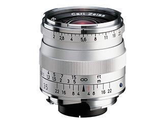 COSINA/コシナ Biogon T*2/35 ZM(シルバー) Carl Zeiss/カールツァイス 【15thcatokka】