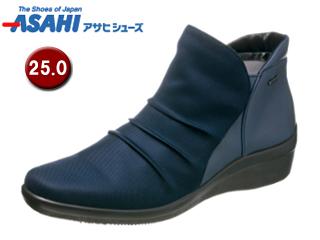 ASAHI/アサヒシューズ AF39564 TDY3956 トップドライ ゴアテックス ショートブーツ 【25.0cm・3E】 (ネイビー)