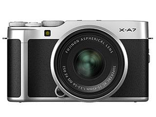 FUJIFILM/フジフイルム F X-A7LK-S(シルバー) FUJIFILM X-A7 レンズキット ミラーレス一眼カメラ