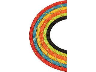 BlueWater Ropes/ブルーウォーターロープス セイフライン 9.5φ×91m オレンジ/グリーン 534630ORGR