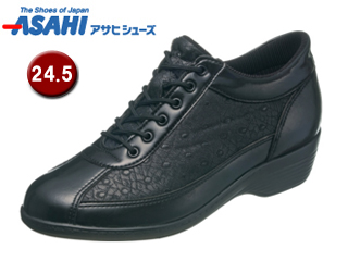 ASAHI/アサヒシューズ KS23292-1 快歩主義 L114AC 【24.5cm・3E】 (ブラック)