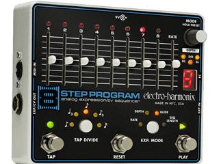electro harmonix エレクトロハーモニクス 8 Program 期間限定お試し価格 アナログシーケンサー 国内正規品 激安卸販売新品 Step