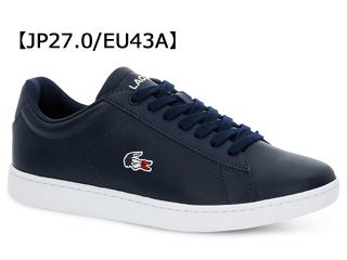 LACOSTE/ラコステ CARNABY EVO 119 7 (ネイビー×ホワイト×レッド) SMA0013 サイズ43A(27.0)
