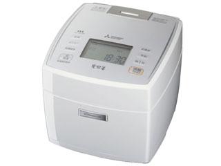 MITSUBISHI/三菱 ●NJ-VE108-W IHジャー炊飯器 備長炭 炭炊釜 【5.5合炊き】(ピュアホワイト)