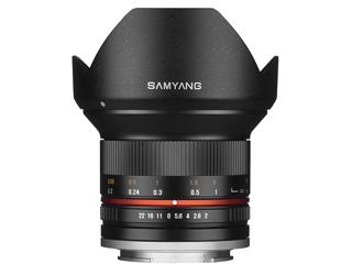 SAMYANG/サムヤン 12mm F2.0 NCS CS(ブラック) ソニー E マウント Sony E用 【お洒落なクリーニングクロスプレゼント!】
