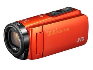 【お得な64GB SDXCカードセットもあります!】 JVC/Victor/ビクター GZ-RX680-D(ブラッドオレンジ) ハイビジョンメモリームービー 【ビデオカメラ】