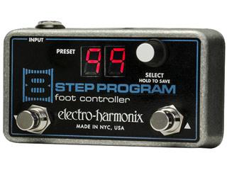 【nightsale】 electro harmonix/エレクトロハーモニクス 8 Step Program Foot Controller リモートプリセットコントローラー エフェクター 【国内正規品】
