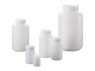 SANPLATEC/サンプラテック PE広口瓶 1L (50本入) 2086