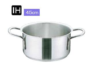 ムラノインダクション 【IH対応業務用鍋】 AST-H909 外輪鍋(蓋無)/内径45cm