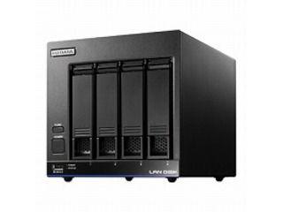 I・O DATA アイ・オー・データ 高性能CPU&WD Red搭載 4ドライブスタンダードビジネスNAS 8TB HDL4-X8/ST5 ※5年間保守パックモデル