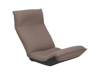産学連携 リラックス座椅子 ブラウン FRリラックス CBC313 BR