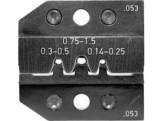 RENNSTEIG/レンシュタイクヴェルクツォイゲ 圧着ダイス 624-053 ピンコンタクト0.14-1.5 624-053-3-0