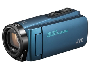 【お得な64GB SDXCカードセットもあります!】 JVC/Victor/ビクター GZ-R480-A(ネイビーブルー) ハイビジョンメモリームービー 【ビデオカメラ】