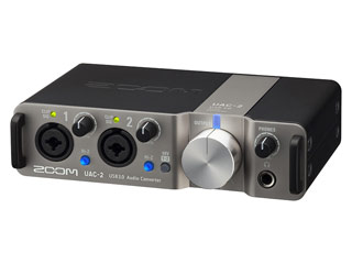 ZOOM/ズーム UAC-2 オーディオコンバーター (UAC2)【2in/2out USB 3.0 Audio Converter】 【RPS160328】 【ハイレゾ】【オーディオインターフェース】