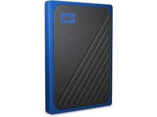 I・O DATA アイ・オー・データ ポータブルSSD 500GB My Passport Go WDBMCG5000ABT-JESN ブルー