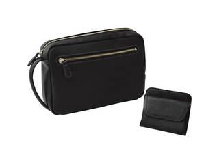 日本製 手作り牛革セカンドバッグ・財布セット  B300-28
