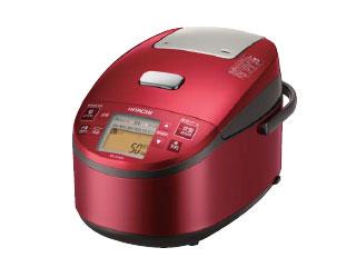 HITACHI/日立 RZ-AX10M(R) 圧力スチームIH炊飯器 黒厚鉄釜 【5.5合炊き】(メタリックレッド)