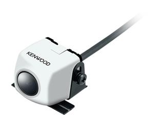 最低被写体照度0.9ルクスの暗視能力で視認性の高い後方確認をサポート 驚きの値段で リアビューカメラ KENWOOD 激安 ケンウッド ホワイト CMOS-230W スタンダードリアビューカメラ