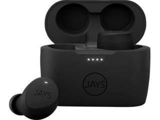Princeton/プリンストン JAYS m-Seven True Wireless 完全ワイヤレスイヤホン (Bluetooth 5.0/ブラック・ブラック) JS-MSTW-B/B