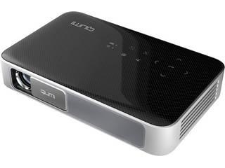Vivitek バッテリー内蔵LEDモバイルプロジェクター QUMI Q38-BK ブラック