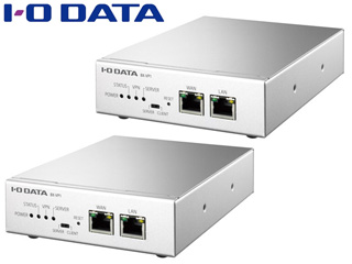 I・O DATA アイ・オー・データ 遠隔地レプリケーション用 VPN専用ボックス 親機・子機2台セット BX-VP1-S 安心のメーカー3年保証付き