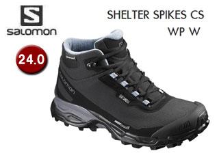 SALOMON/サロモン L39072900 SHELTER SPIKES CS WP W ウィンターシューズ ウィメンズ 【24.0】