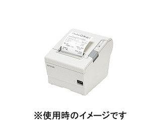 EPSON/エプソン サーマルレシートプリンター/80mm/クールホワイト/USBIF TM885UD481