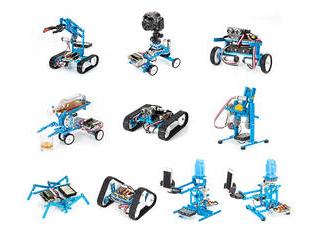 ・STEM教育 Makeblock Japan Ultimate Robot Kit V2.0 99090 【STEM教育】 ・組立時間約2時間~3時間(10種類のロボット) ・プログラミング