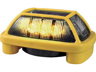 NIKKEI/日惠製作所 ニコハザードFAB VK16H型 LED警告灯 黄 VK16H-004F3Y