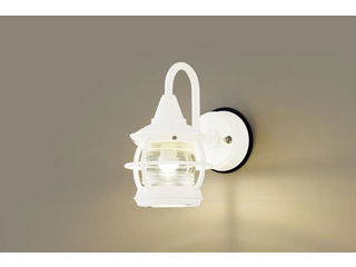 Panasonic/パナソニック LGW85218K LEDポーチライト ホワイト【電球色】【壁直付型】