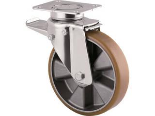 TENTE/テンテ 重荷重用高性能旋回キャスター(ウレタン車輪・メンテナンスフリー) 3642ITP125P63 CONVEX