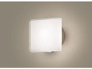 Panasonic/パナソニック LGWC81305LE1 LEDポーチライト プラチナメタリック【電球色】【明るさセンサ付】【壁直付型】