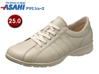 ASAHI/アサヒシューズ KS23361-1 快歩主義 L121AC レディースウォーキングシューズ 【25.0cm・3E】 (アイボリー)
