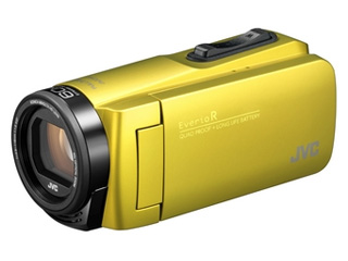 JVC/Victor/ビクター GZ-R480-Y(シトロンイエロー) ハイビジョンメモリームービー 【ビデオカメラ】