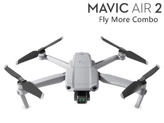 DJI CP.MA.00000172.01 Mavic Air 2 Fly More Combo/フライ モア コンボ マビックエアー2 折りたたんで持ち運べる/48 MP写真/4K 60fps動画/最大飛行時間34分/8Kハイパーラプス