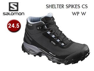 SALOMON/サロモン L39072900 SHELTER SPIKES CS WP W ウィンターシューズ ウィメンズ 【24.5】