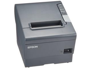 EPSON/エプソン 【キャンセル不可商品】サーマルレシートプリンター/80mm/ダークグレーUSBIF TM885UD521