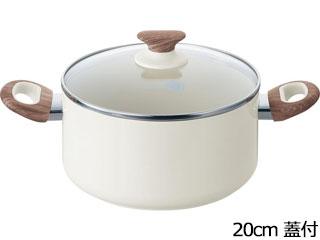 グリーンパン ★★★グリーンパン ウッドビー キャセロール 20cm 蓋付き