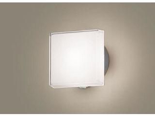 Panasonic/パナソニック LGWC81306LE1 LEDポーチライト シルバーメタリック【電球色】【明るさセンサ付】【壁直付型】