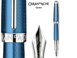 CARAN dACHE/カランダッシュ 【Leman/レマン】グランブルー 万年筆 B 4799-178
