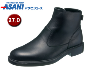 【nightsale】 ASAHI/アサヒシューズ AM33181-1 通勤快足 ゴアテックス メンズ ビジネスシューズ ブーツ 【27.0cm・4E】 (ブラック)