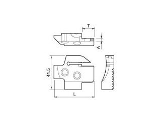 KYOCERA/京セラ 溝入れ用ホルダ KGDFR-65-3C-C