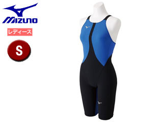 mizuno/ミズノ N2MG8211-50 MX-SONIC02 ハーフスーツ レディース 【S】 (ブラック×ブルー)