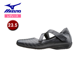 mizuno/ミズノ B1GH1560-05 レディースウォーキングシューズ SELECT525 【23.5】 (グレー)