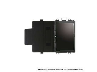 MSソリューションズ ARROWS Tab Q507/PE / Q506/ME 合成皮革ケース ブラック MS-Q507PEL01BK