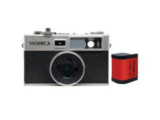 懐かしくて新しいデジタルカメラ YASHICA Y35 オーソドックスなdigiFilm200が付属したスタートセット YASHICA YASHICA デジフィルムカメラ Y35 with digiFilm200セット YAS-DFCY35-P38